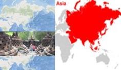 letak geografis dan astronomis asia