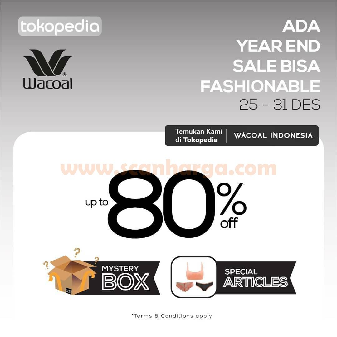 WOCOAL Year end sale with tokopedia