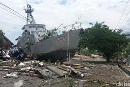 Dihantam Gempa dan Tsunami Palu, Dermaga Kapal Selam TNI AL Rusak