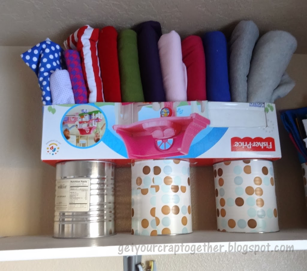 Organizing Your Fabric Stash