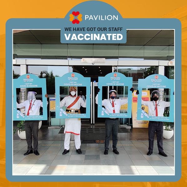 Pavilion initiated Covid vaccination drive for its staff