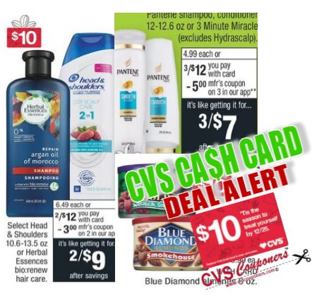 cvs cash card coupon deal 1110-1116