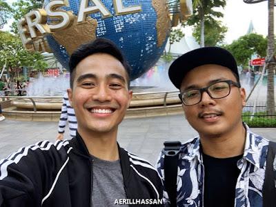 UNIVERSAL STUDIO SINGAPORE & SENTOSA ISLAND