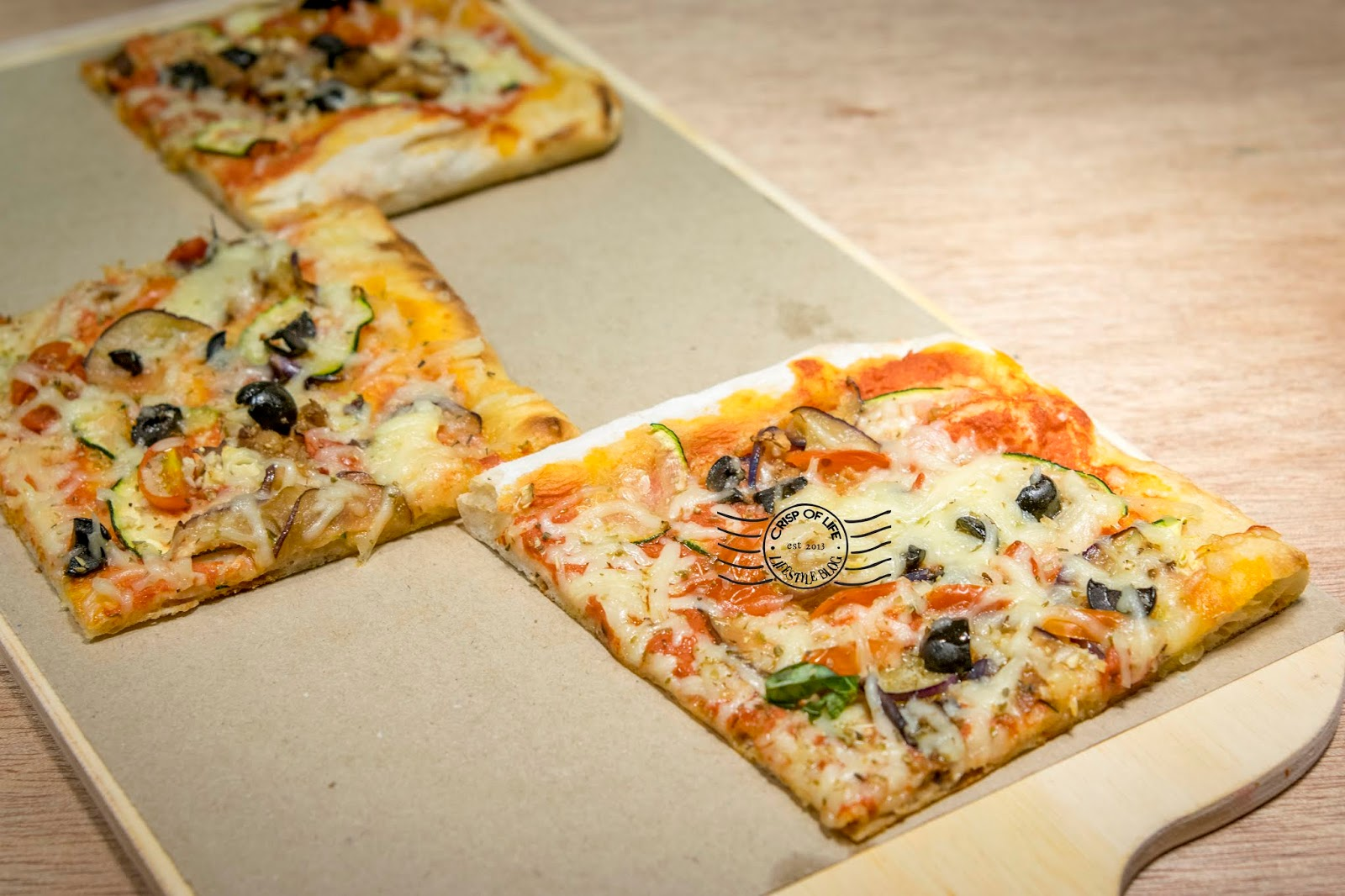 Fantastic & Authentic Italian Pizza at OTTO Pizza Romana @ Lebuh Carnavon, Penang