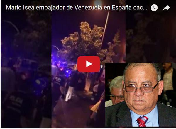 Cacerolazo contra embajador de Venezuela en España