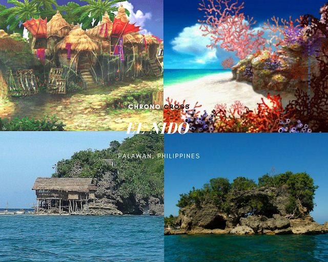 el nido, philippines, chrono cross, anime in real life