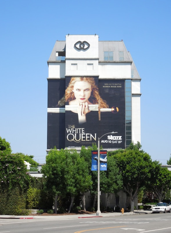 White Queen season 1 billboard