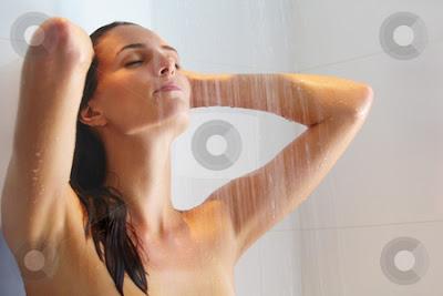 akibat mandi air hangat