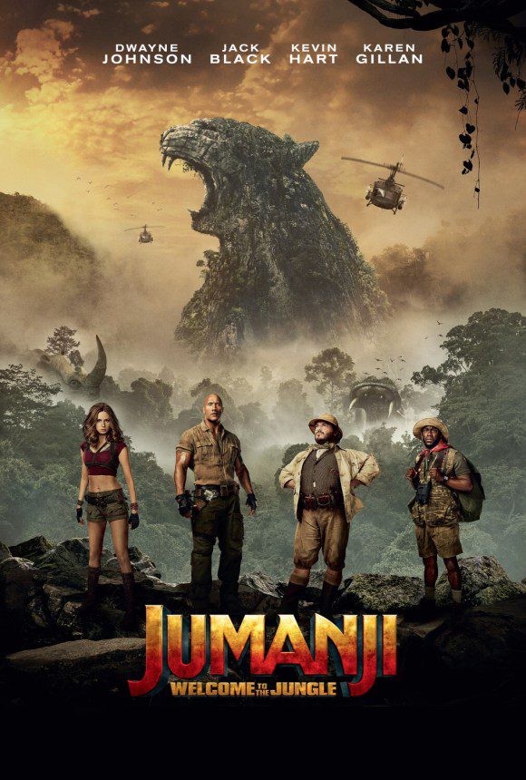 Jumanji: Welcome to the Jungle [2017] [DVDR] [NTSC] [CUSTOM HD] [Latino Final]
