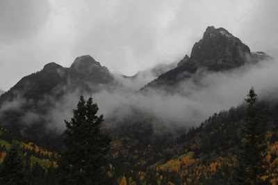 A week later, deep in the Weminuche Wilderness in the San Juan Mountains.