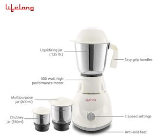 2) Life Long power mixer