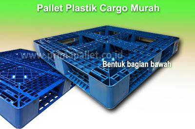 Jual Pallet Plastik Cargo Ukuran 110 x 110 x 15 cm Harga Murah
