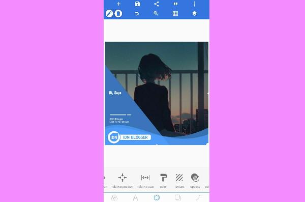 Cara Edit Twibbon Di HP
