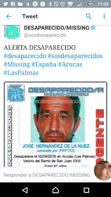 pepito desaparecido de juan 23 arucas