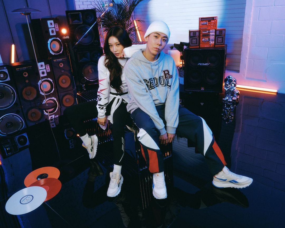 Chungha and LOCO Become Reebok Korea's Newest Brand Ambassador