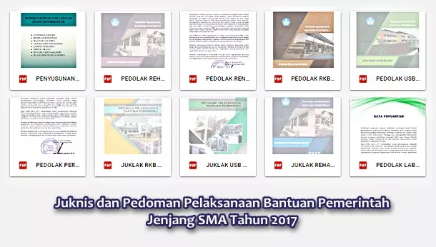 Juknis (Pedoman) Bantuan Pemerintah Jenjang SMA Tahun 2017