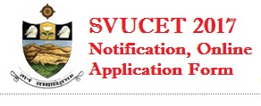 SVU PGCET 2017 Online Application