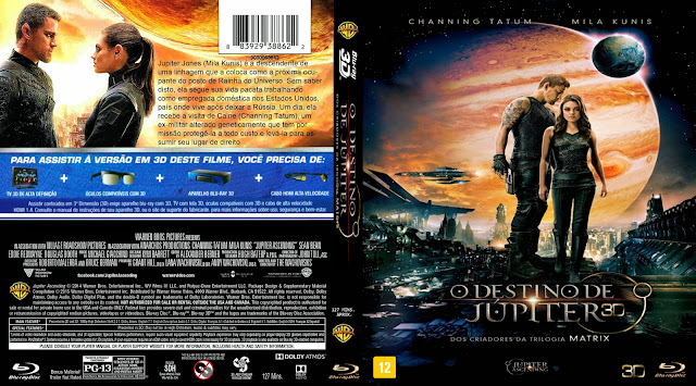 Capa Bluray O Destino De Júpiter