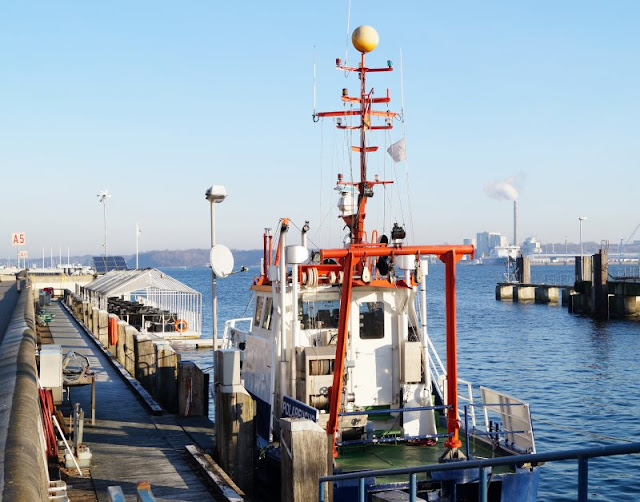 Kiellinie Geomar Kiel Forschungsschiff Polarfuchs