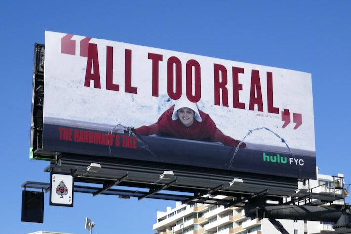Handmaids Tale S3 All too real FYC billboard