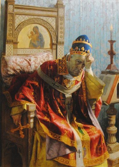 Bonifácio VIII, um dos piores papas.