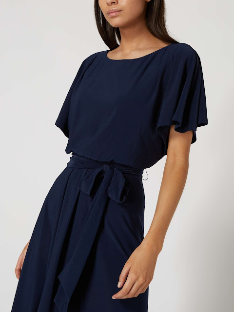 linea lettie plain flo dress