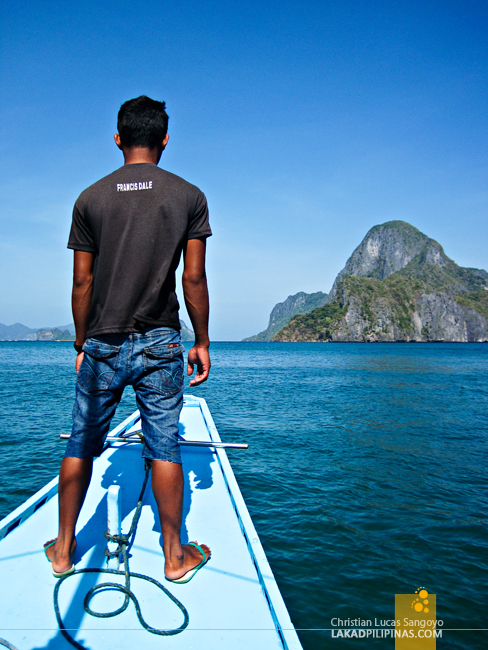 A Local Boat Guide in El Nido, Palawan