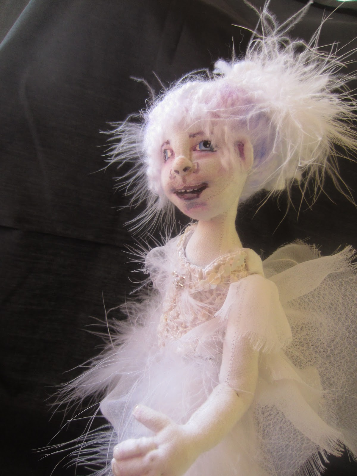 I imagine that children who have passed on have the same passions as they did when on this Earth. Sarah loves to dance. Her favorite costume to wear is the ...  sc 1 st  3sisters & 3sisters: Sarah Swan Lake Ballerina Ghost doll