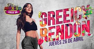 Concierto de Greeicy Rendón en Plaza México,