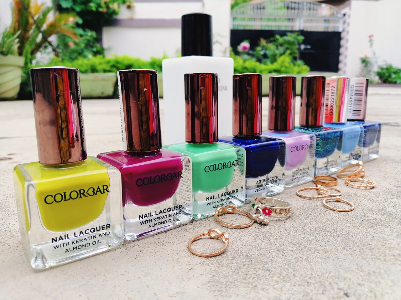 Colorbar Arteffects Nail Lacquer Swatches Review New Colorbar Nail Polishes