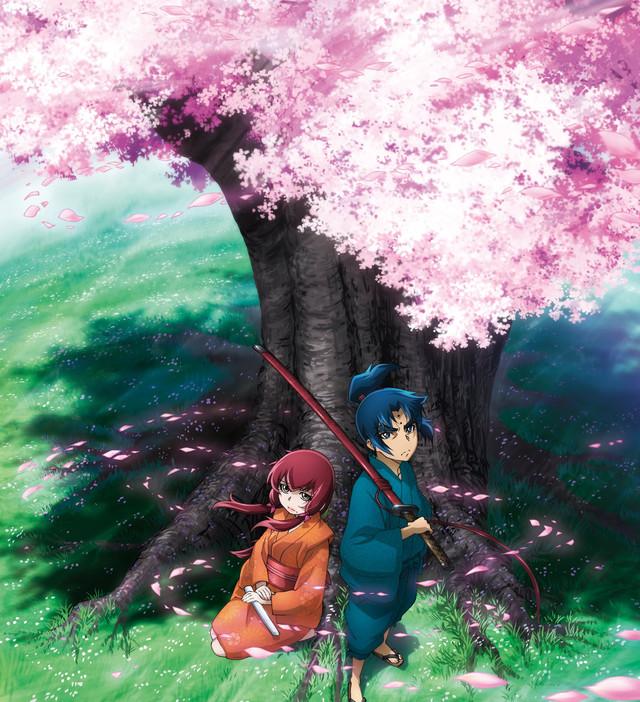 Basilisk - plakat drugiego sezonu anime