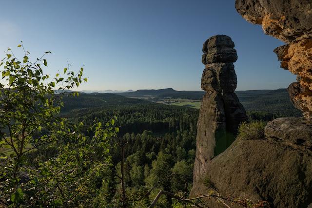 Malerweg Etappe 7 | Von Kurort Gohrisch bis Weißig | Wandern Sächsische Schweiz | Pfaffenstein – Festung Königstein 12