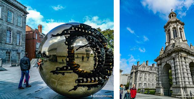Trinity College, a Universidade mais conceituada da Irlanda, fundada no Século 16