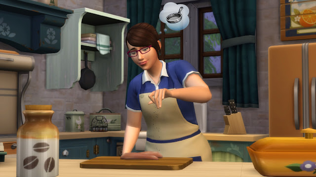 The Sims 4 Country Kitchen