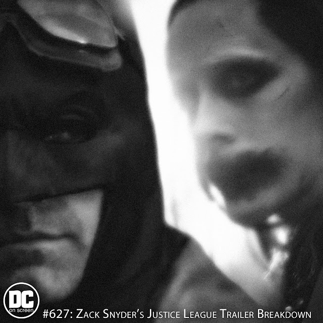 Batman (Ben Affleck) and Joker (Jared Leto) from Zack Snyder's Justice League