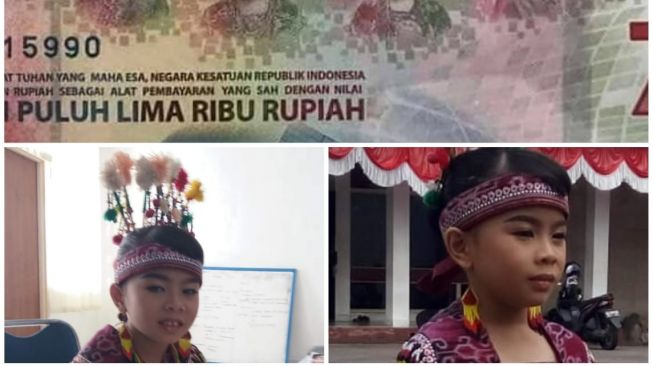 Bocah Berbaju Dayak di Uang Rp 75 Ribu, Ayahnya Pegawai Bank Indonesia