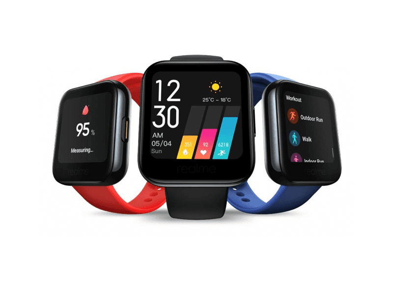 realme Watch with color touch display and SpO2 monitor now official!