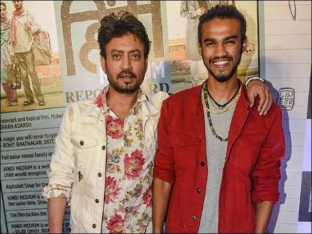 Irrfan Khan's son Babil fondly remembers him as he attends International Film Festival of India