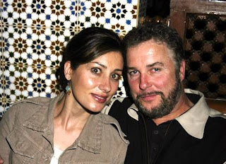 Gina Cirone with her spouse William Petersen