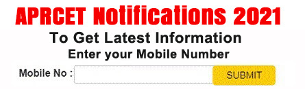 aprcet Application form 2021