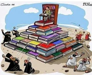 dengan membaca kita nggak gampang terprovokasi