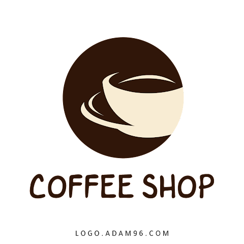 Download Coffee Shop Logo Without Rights For Free - PSD