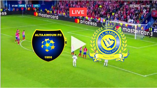 مباراة النصر والتعاون بث مباشر بتاريخ 13-12-2019 الدوري السعودي