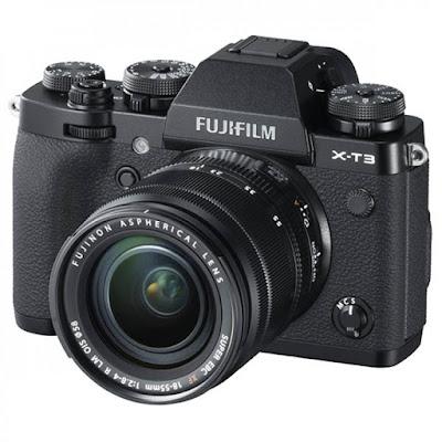 Fujifilm X-T3 Mirrorless Digital Camera Firmware Latest Driverをダウンロード