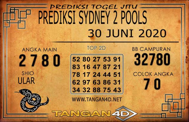 PREDIKSI TOGEL SYDNEY 2 TANGAN4D 30 JUNI 2020