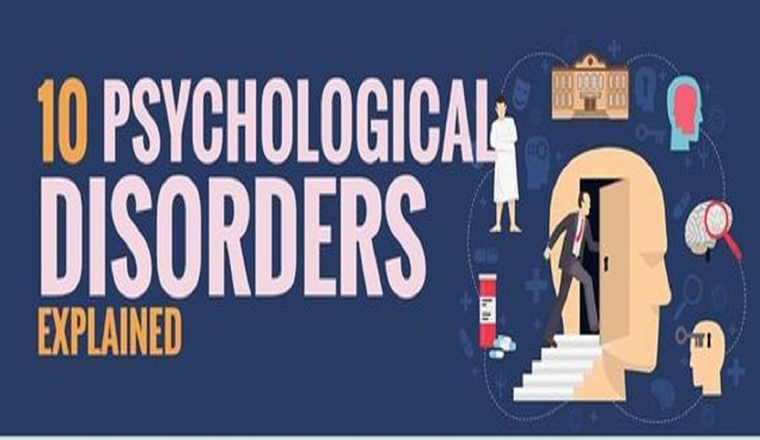 Understanding The 10 Most Common Psychological Disorders #infographic