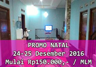 kamar murah dieng untuk natal 2016