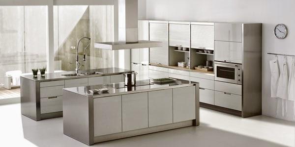 Construindo Minha Casa Clean Tendência de Cozinhas com Ilha Central e Ilha A # Bancada Para Cozinha Onde Comprar