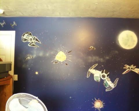 Bawden Fine Murals: Star wars Rooms