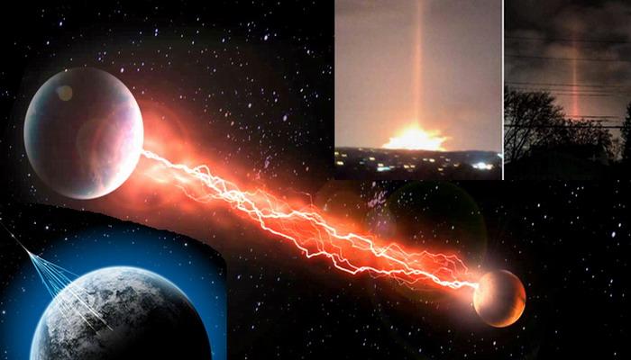 Un misterioso cometa esta disparando rayos de energía a la Tierra